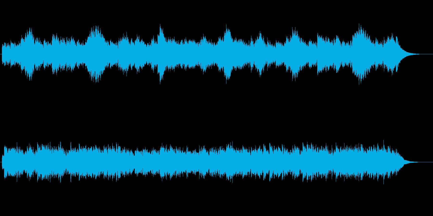 ハロウィン、チェレスタ、怖い、怪しい1分の再生済みの波形