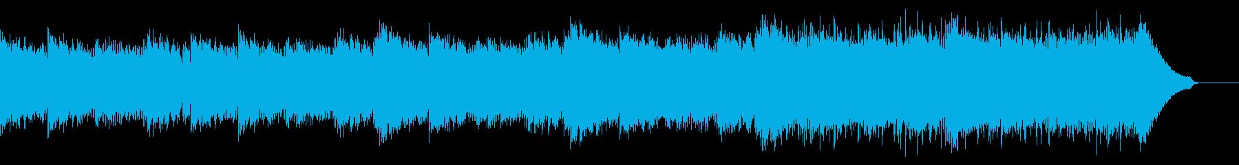 企業VP映像、120オーケストラ、爽快bの再生済みの波形