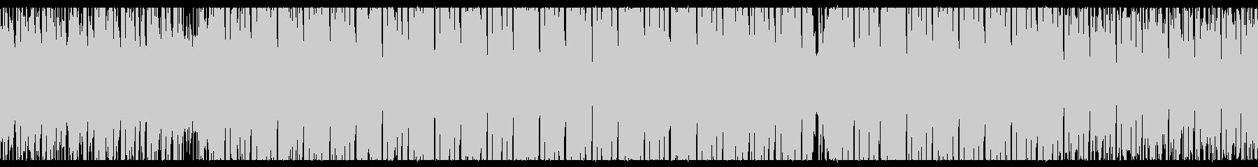 【ループ】エレクトロ、明るい、お洒落の未再生の波形