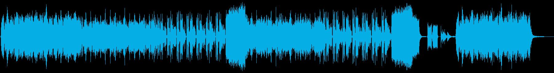 【動物・子供向け】アコーディオンのBGMの再生済みの波形