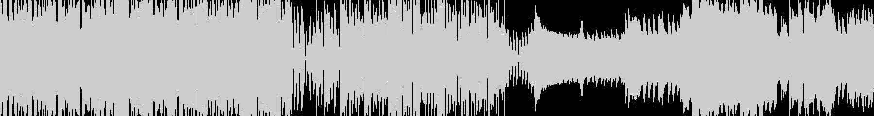 クールでアゲ感MAXなBGM|ループ対応の未再生の波形