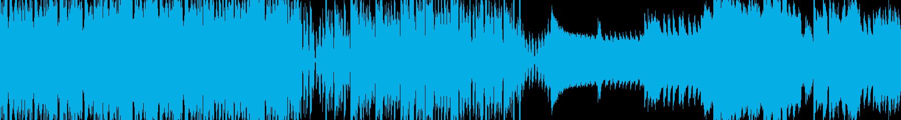 クールでアゲ感MAXなBGM|ループ対応の再生済みの波形