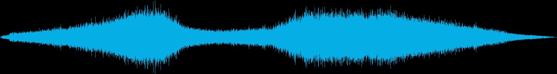 フランジフライの再生済みの波形
