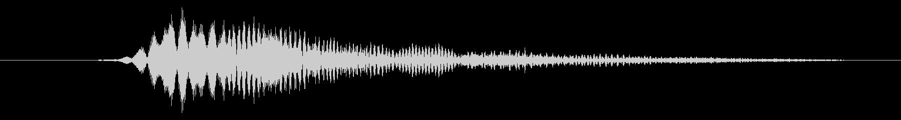 特撮 インターフェイススイープ04の未再生の波形