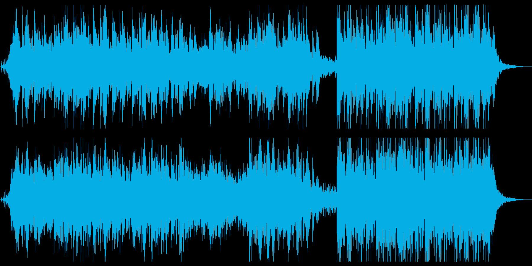 【冬の夜空】切なくて幻想的なBGMの再生済みの波形