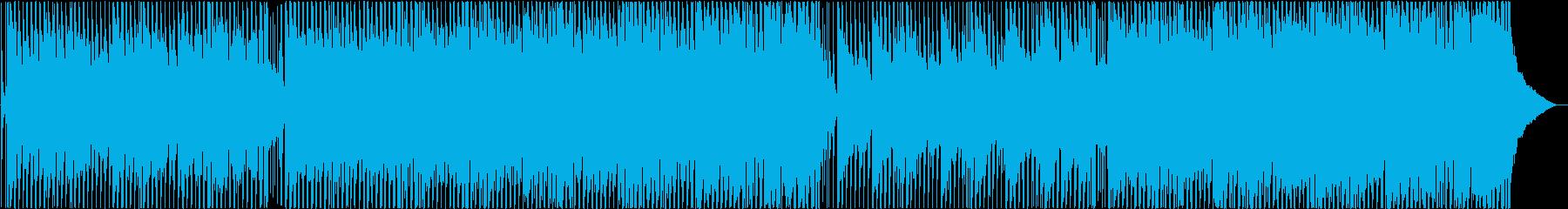 コーポレート、ポップロックの再生済みの波形
