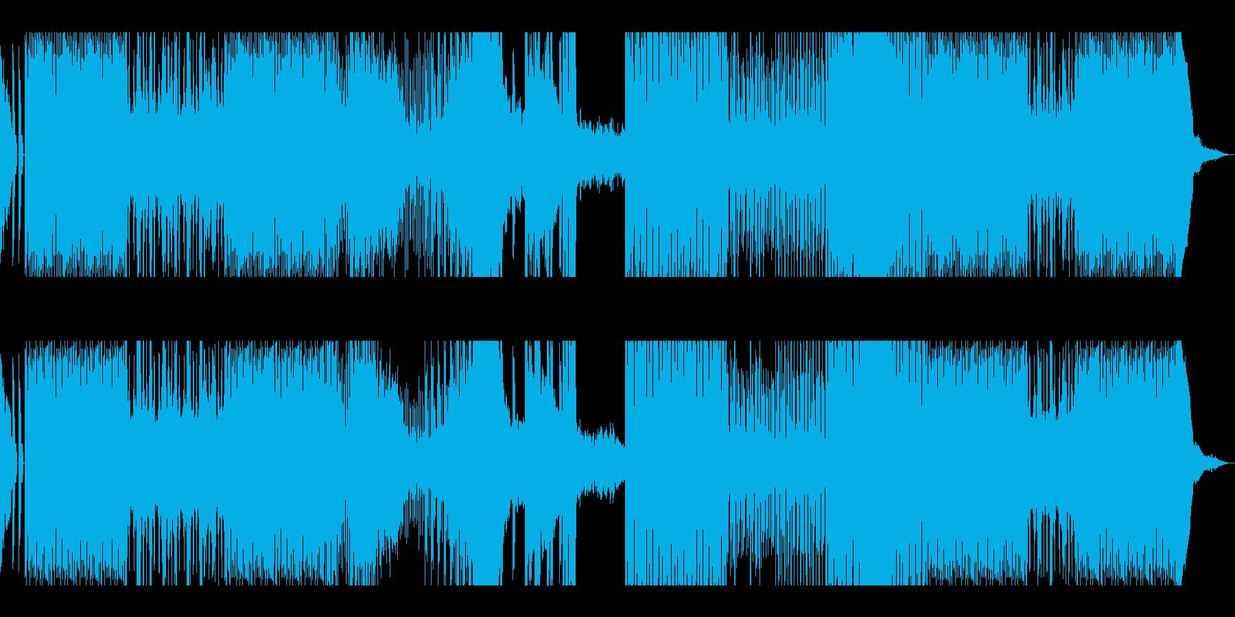 アップテンポ/迷路・迷う・追跡・逃走の再生済みの波形