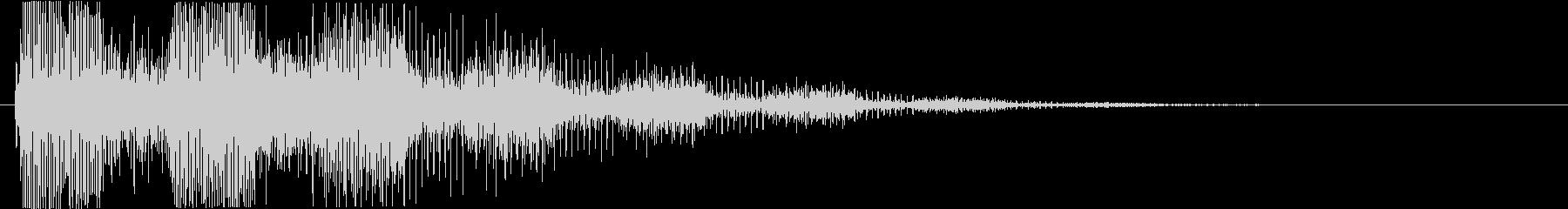 プッ:ラッパの音・失敗・バカにするdの未再生の波形