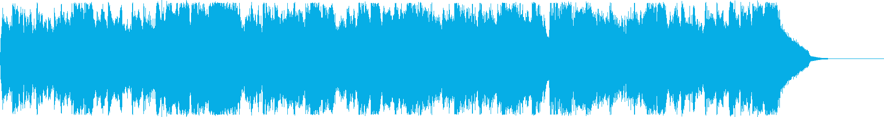 CM・爽やかな夏の海・男性ボーカルレゲエの再生済みの波形