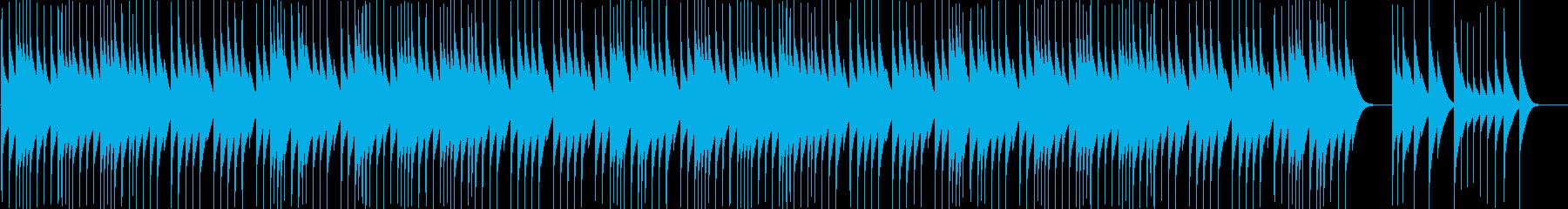 【オルゴール】クリスマス曲Wewish1の再生済みの波形