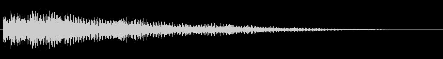 アコースティックギター チャラーンの未再生の波形