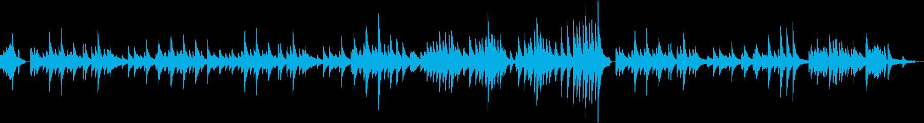 ロマンチックジャズバラード ピアノソロの再生済みの波形