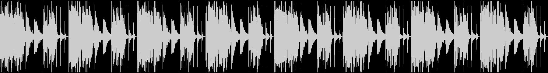 【エレクトロニカ】ロング4、ジングル1の未再生の波形