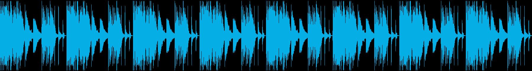 【エレクトロニカ】ロング4、ジングル1の再生済みの波形