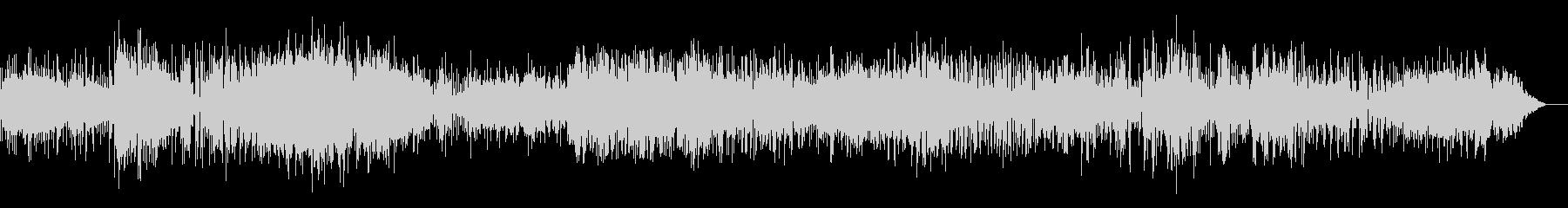 ダークな雰囲気のロボティックなIDMの未再生の波形