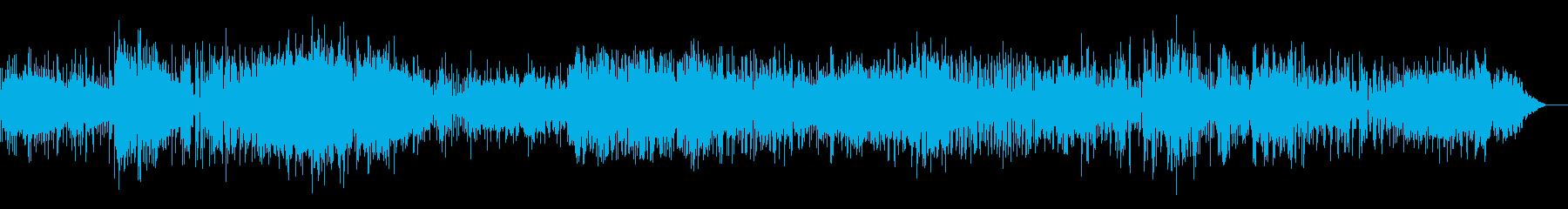 ダークな雰囲気のロボティックなIDMの再生済みの波形