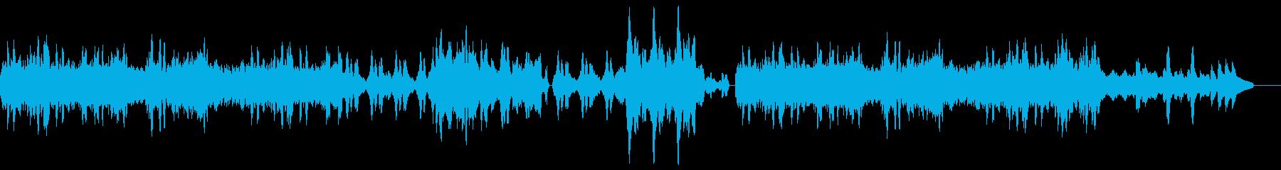 チャイコフスキー四季 1月 炉ばたでの再生済みの波形