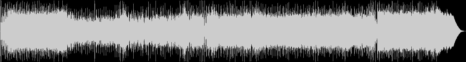 疾走感あるキャッチ―なロックギターBGMの未再生の波形
