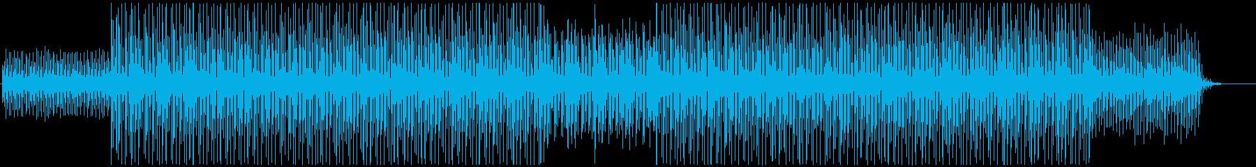 理科・実験・パズル/可愛いテクノポップの再生済みの波形