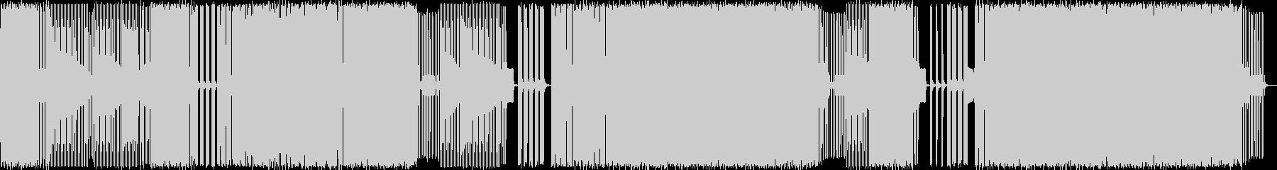 エレクトロハウス。モンスター、バッドの未再生の波形