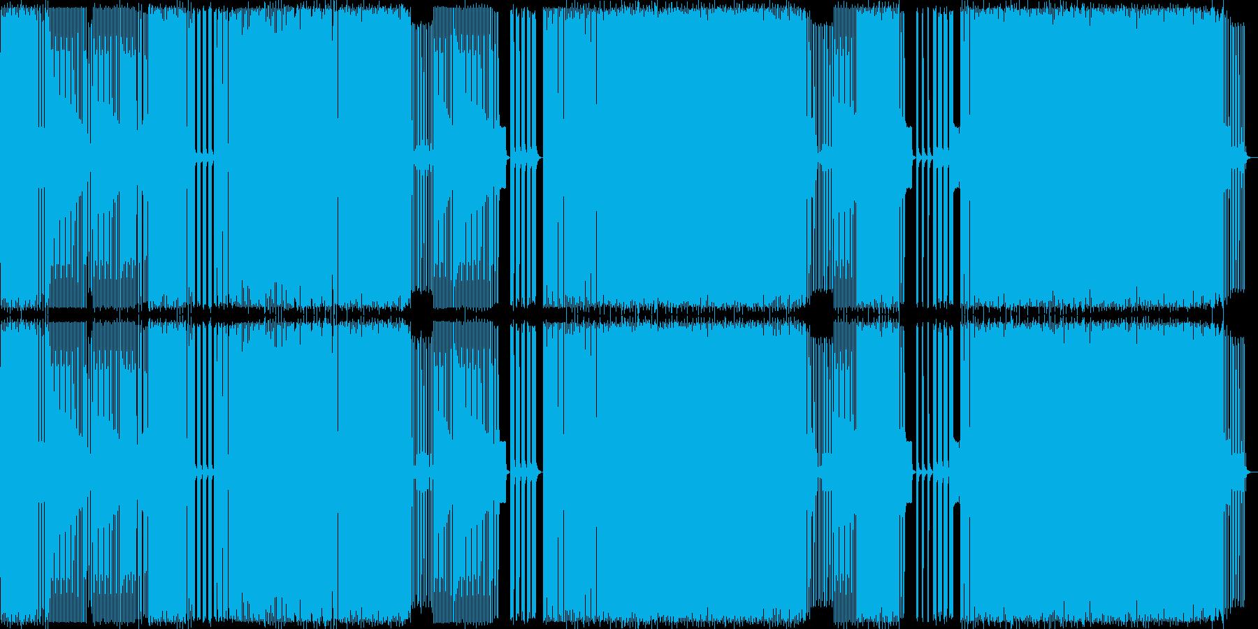 エレクトロハウス。モンスター、バッドの再生済みの波形