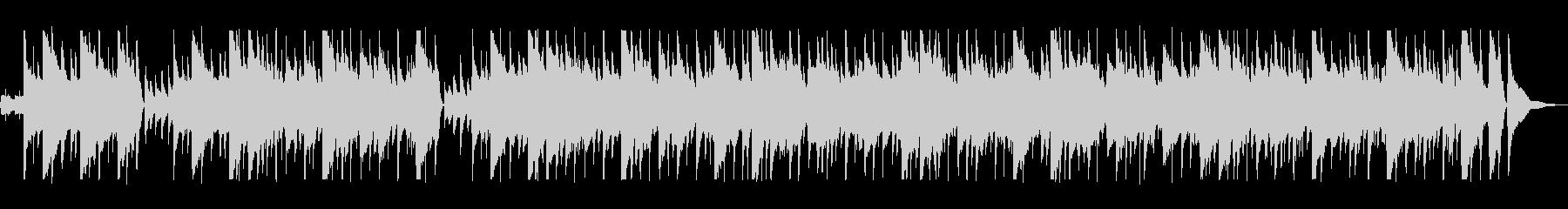南国を思わせるミュージックの未再生の波形