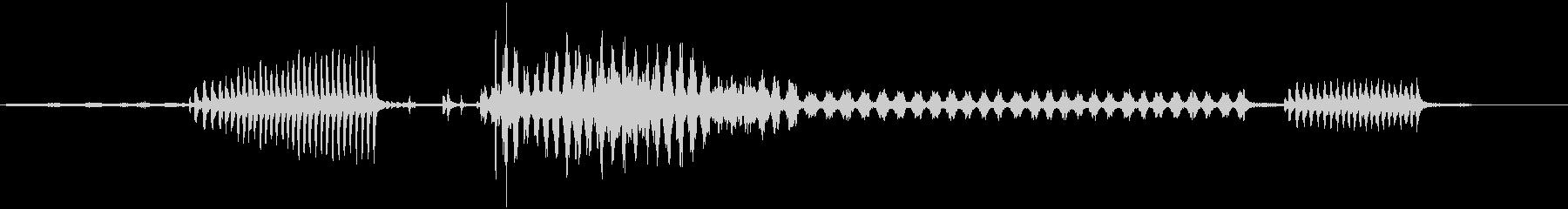 ガチョウ-鳥-フェンス-森3の未再生の波形