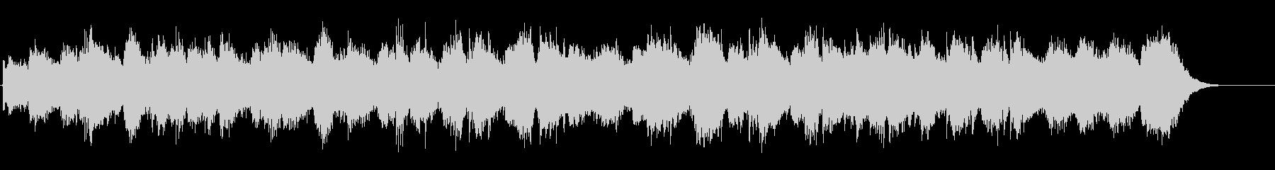 環境音楽(ニューエイジ系)の未再生の波形