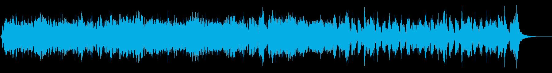ファンファーレ行進曲の再生済みの波形