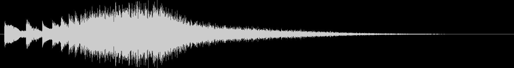 KANT 絶望のピアノフレーズ1の未再生の波形