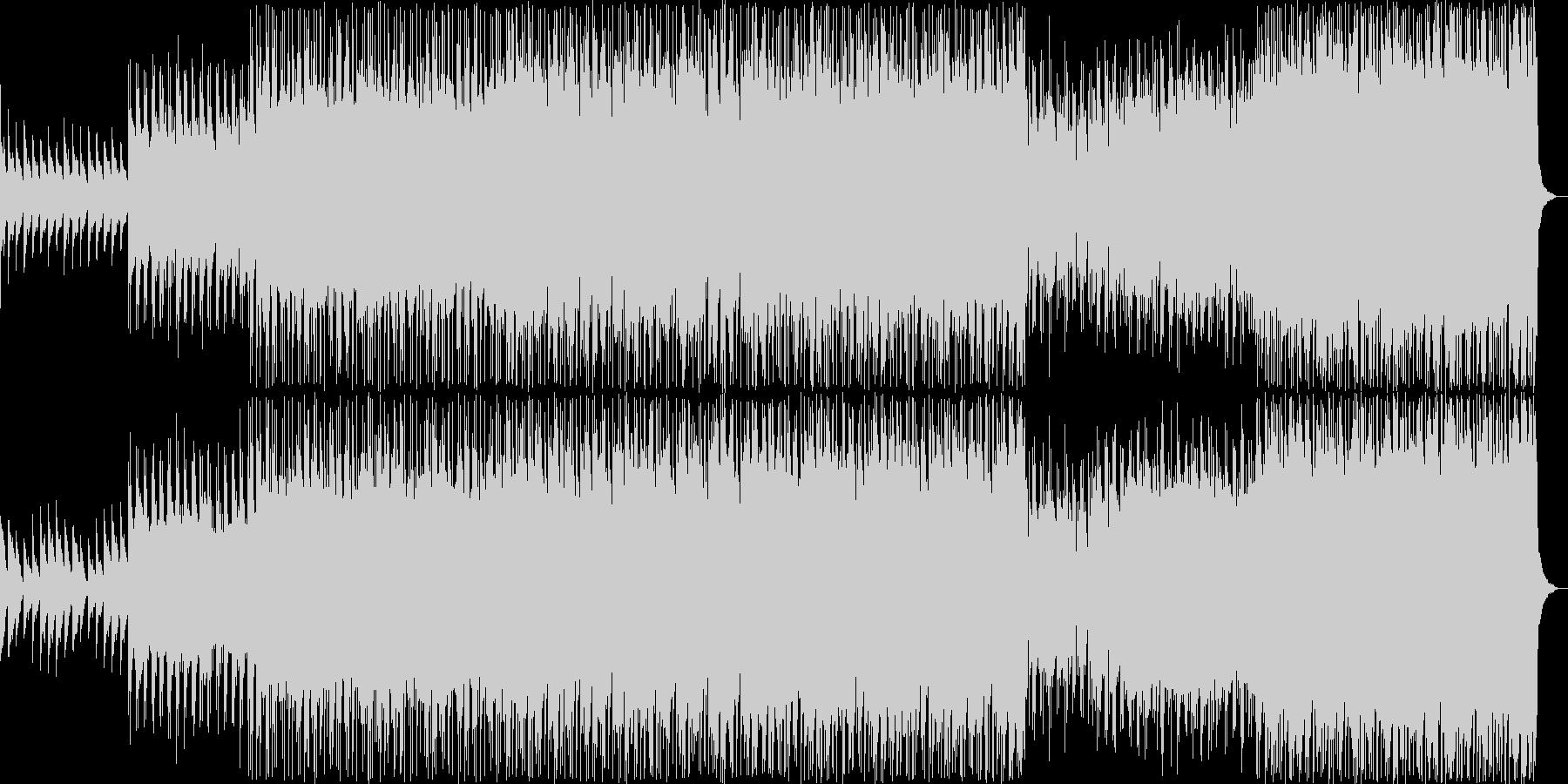 ヘヴィロック サスペンス 説明的 ...の未再生の波形