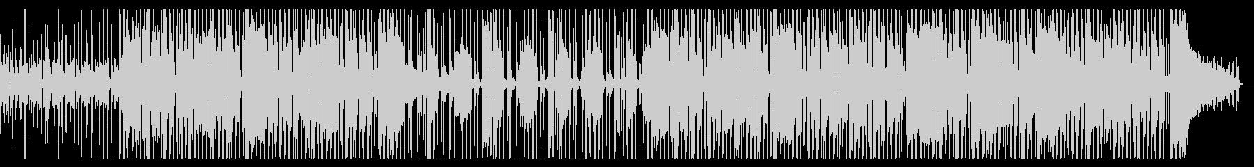 ファンキーでグルービーなR&B系ビートの未再生の波形