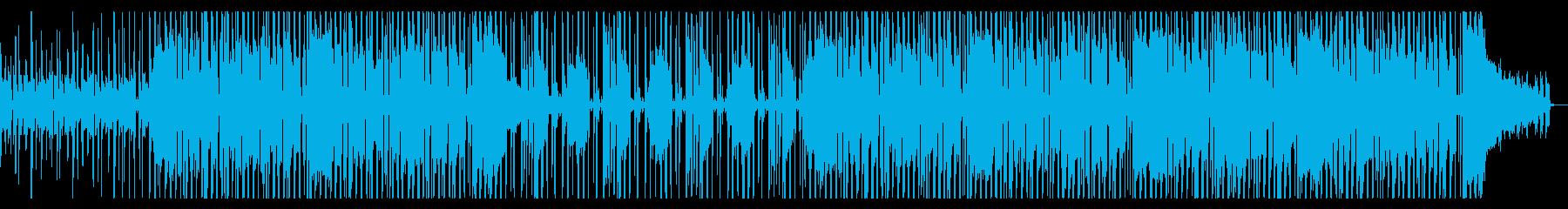 ファンキーでグルービーなR&B系ビートの再生済みの波形