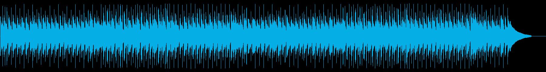 ほのぼのしたアコースティックなポップの再生済みの波形