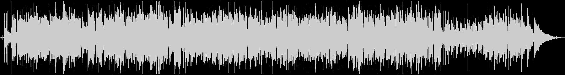フルート/サックス 優しさのあるジャズの未再生の波形