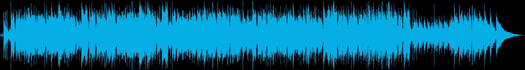 フルート/サックス 優しさのあるジャズの再生済みの波形