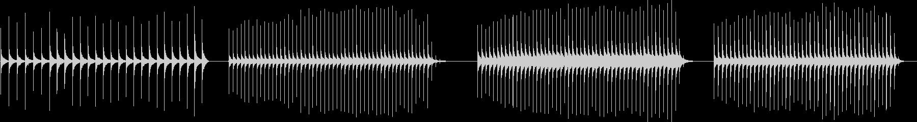 フレキストン、メタル、スプリング、...の未再生の波形