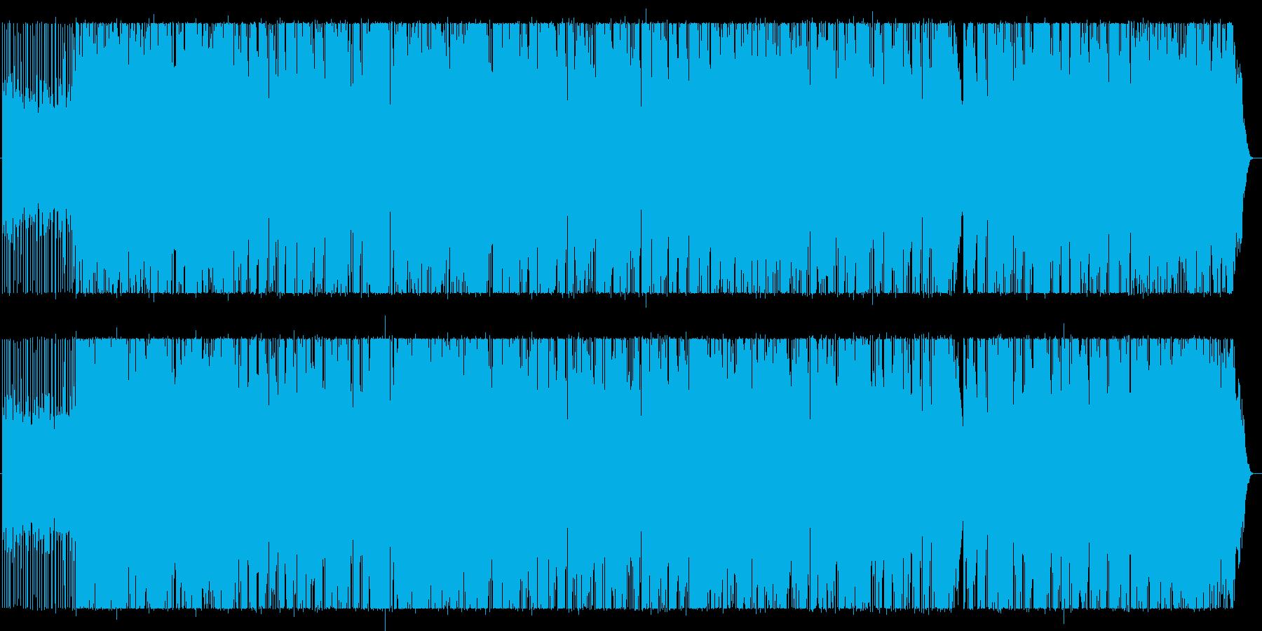 スペーシーサウンドで軽快に!の再生済みの波形