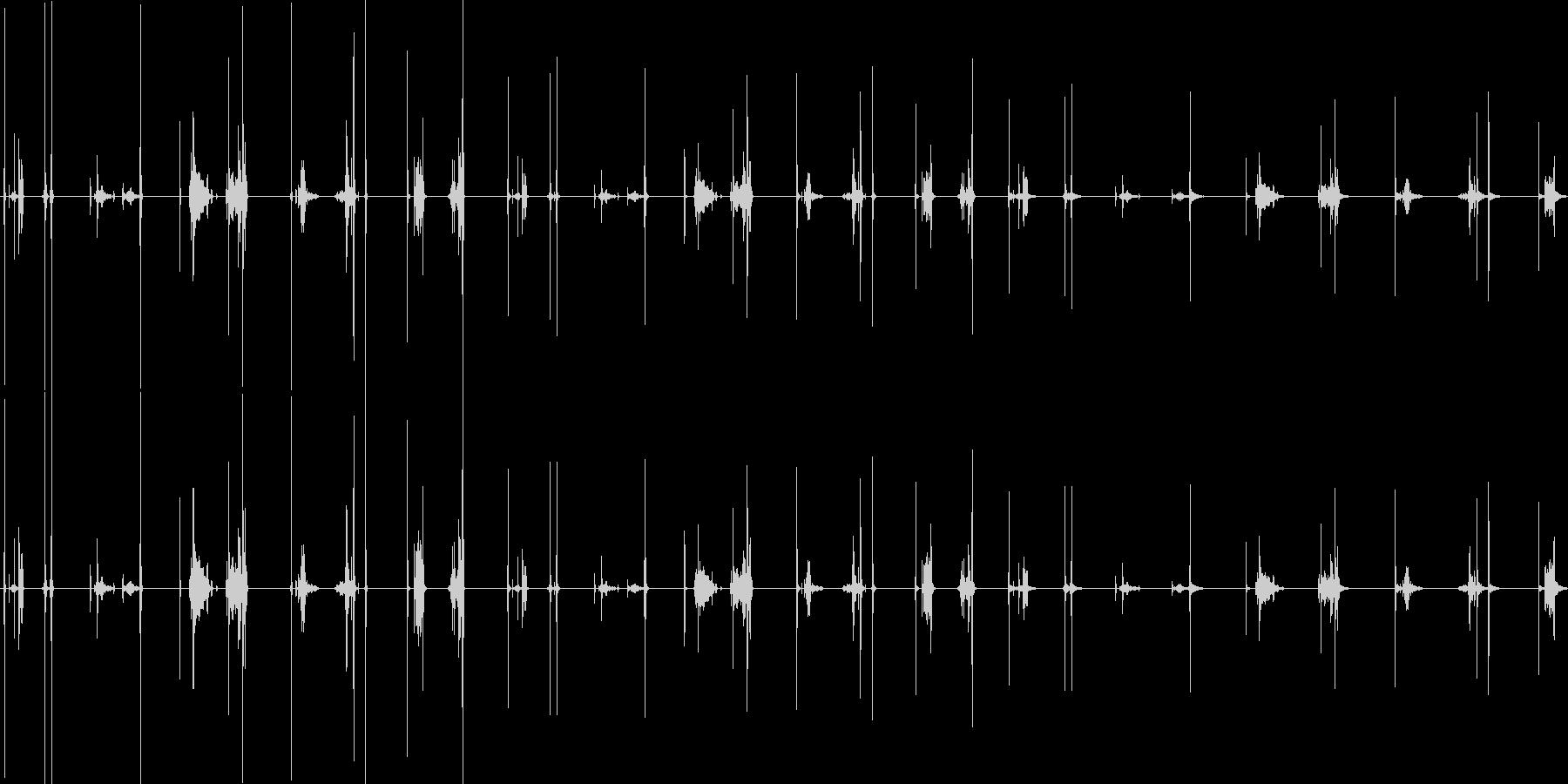 引き出し、ロック付き、5バージョン...の未再生の波形
