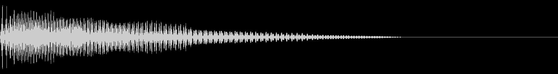 ベース/ドゥーン/ネックスライド/A04の未再生の波形