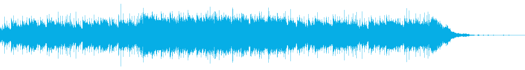 穏やかなドキュメンタリー用ほのぼのアコギの再生済みの波形