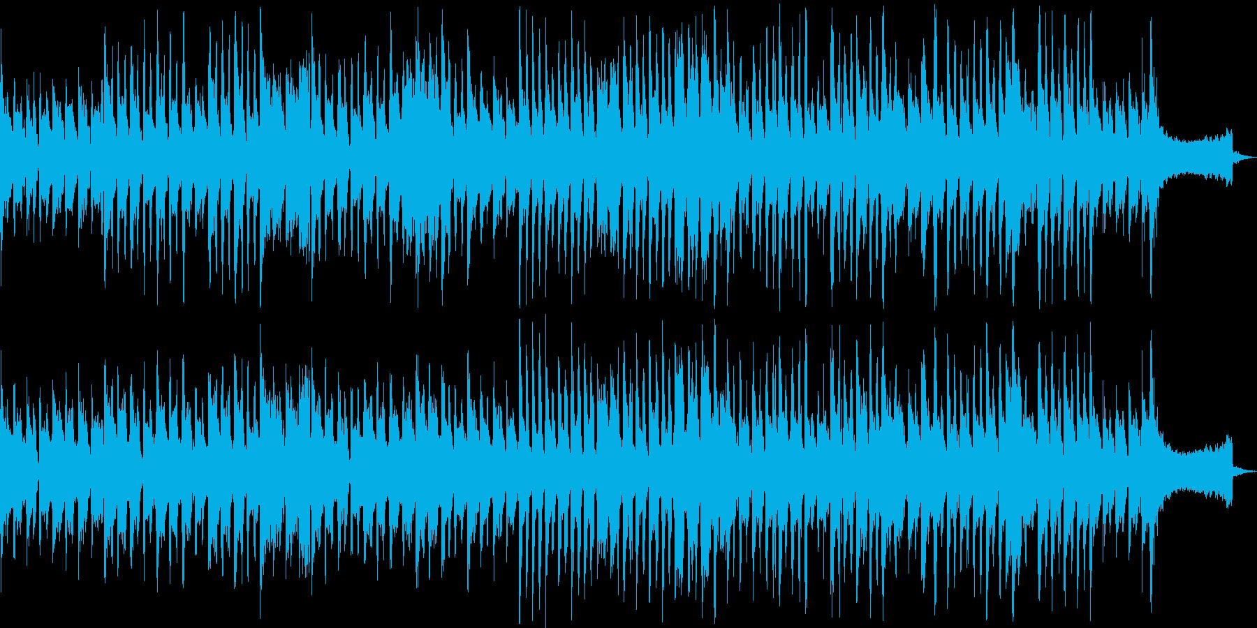 SE入りの奇妙なポルカの再生済みの波形