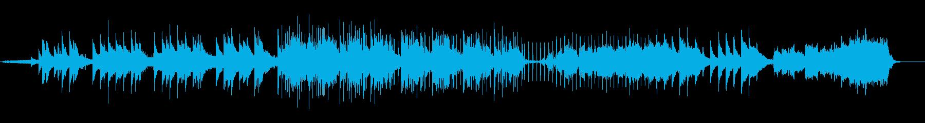 透明感のあるファンタジーな音世界の再生済みの波形
