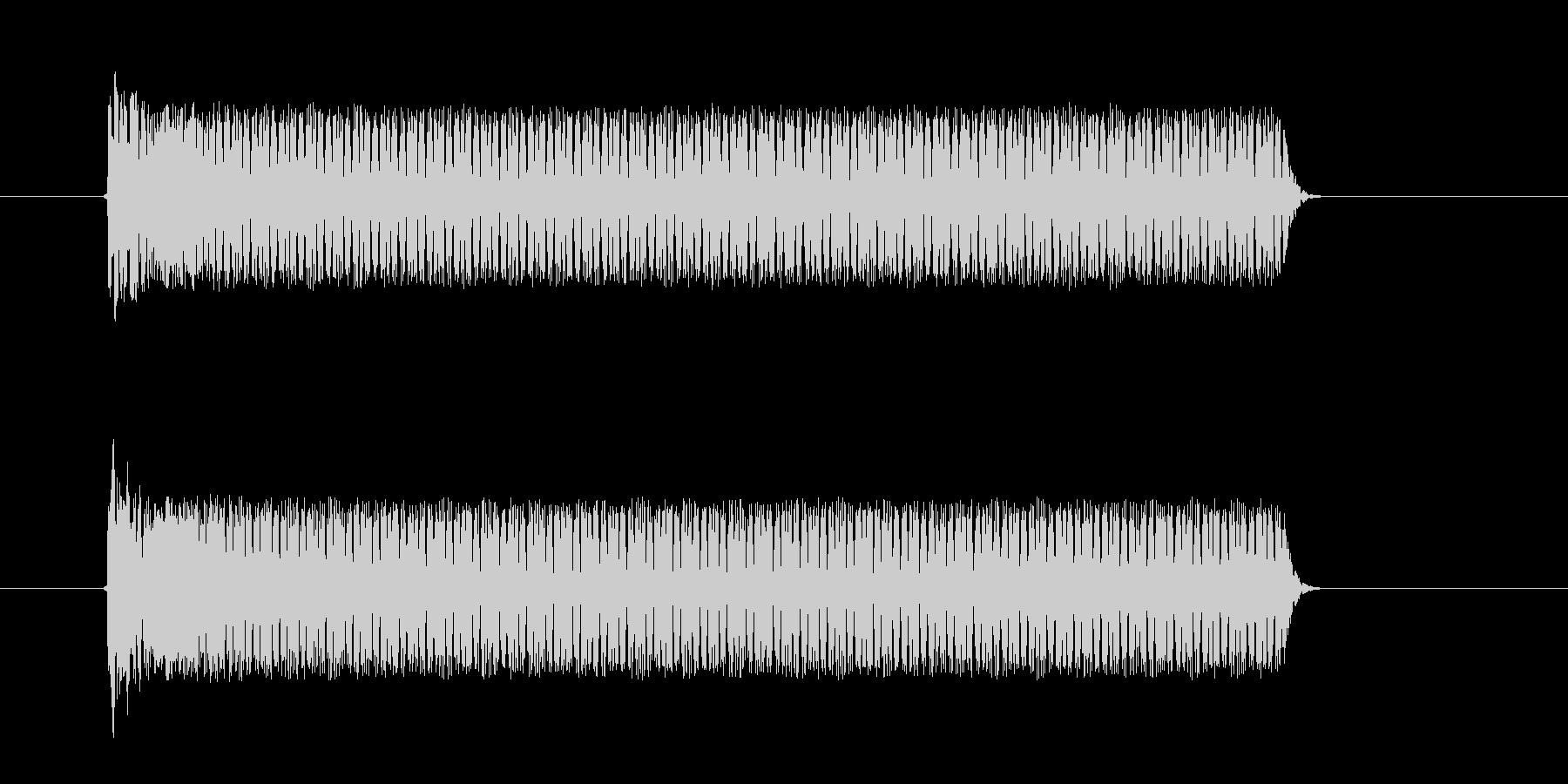 ビューンシュルシュル(宇宙、飛ぶ、回転)の未再生の波形