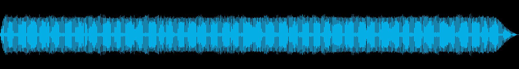 【生録音】秋の虫たちが鳴く音3の再生済みの波形