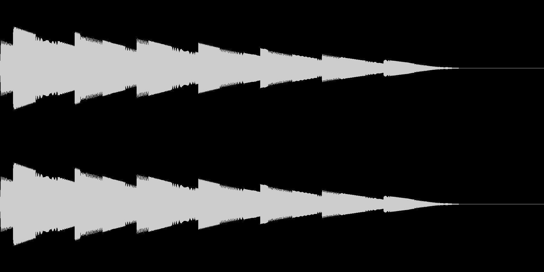 ピロピロピロ(宇宙/ワープ/サイケ/SFの未再生の波形