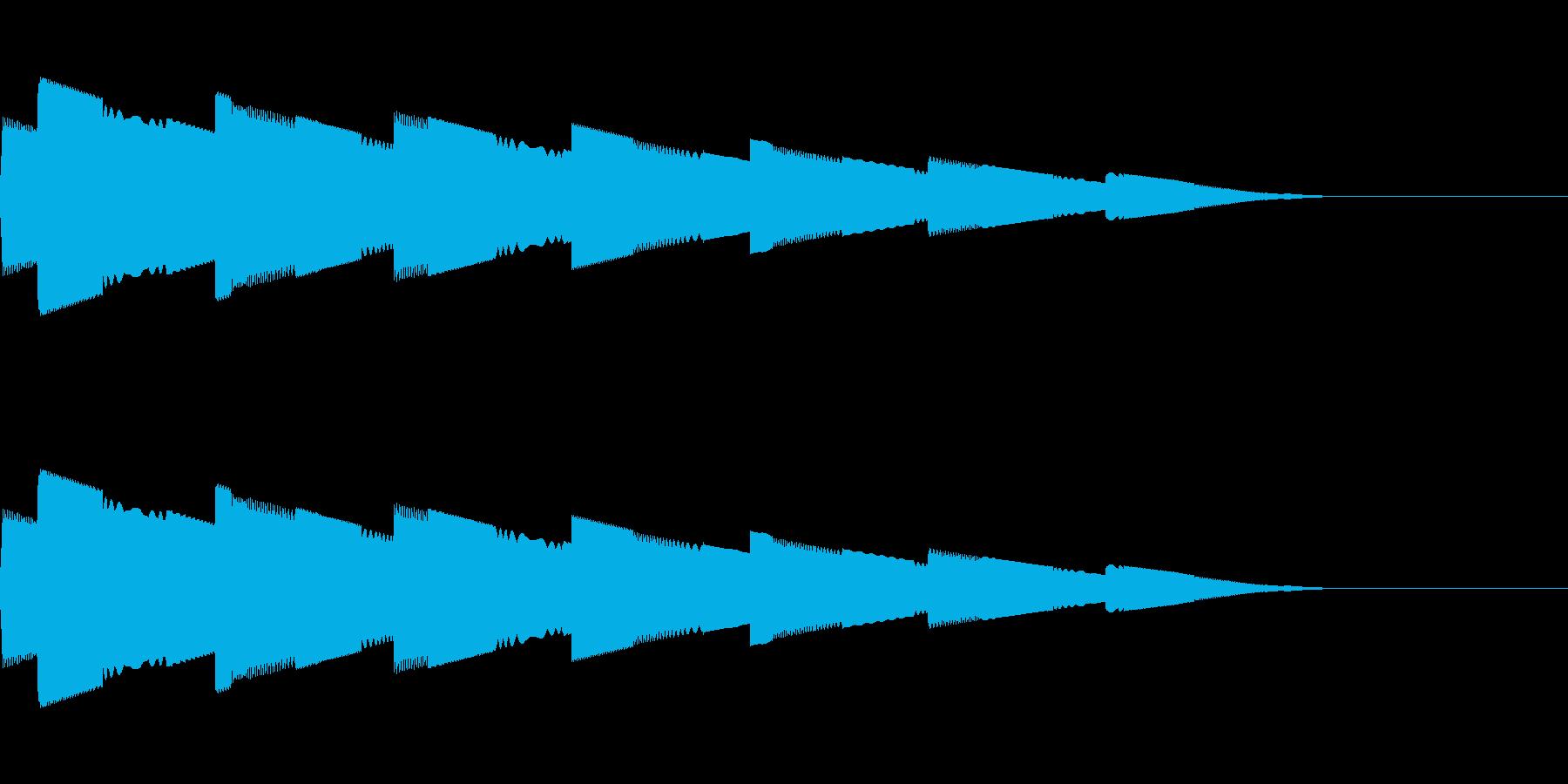 ピロピロピロ(宇宙/ワープ/サイケ/SFの再生済みの波形
