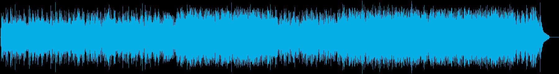 しなやかで華麗にフィナーレを彩るポップスの再生済みの波形