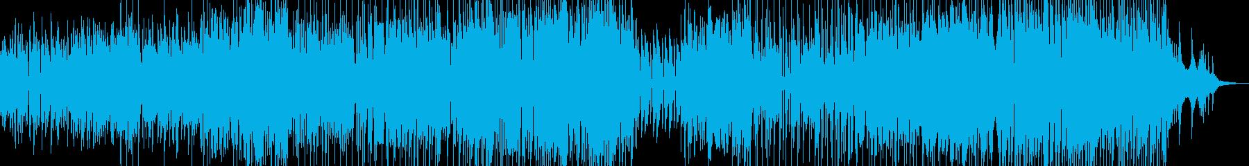 アコーディオンと木管・可憐なジャズ 寛ぎの再生済みの波形