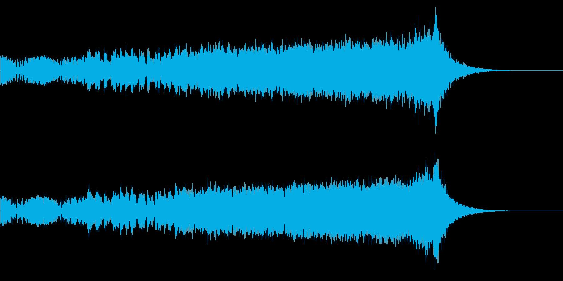 何かが始まる!壮大なオーケストラOPの再生済みの波形